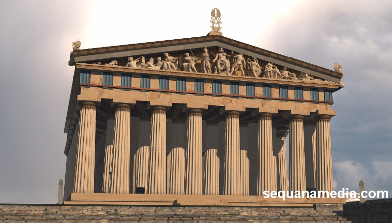 ancient wonders lost monuments and cities 3d cgi